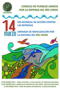 Jornada de movilización por la defensa del río verde