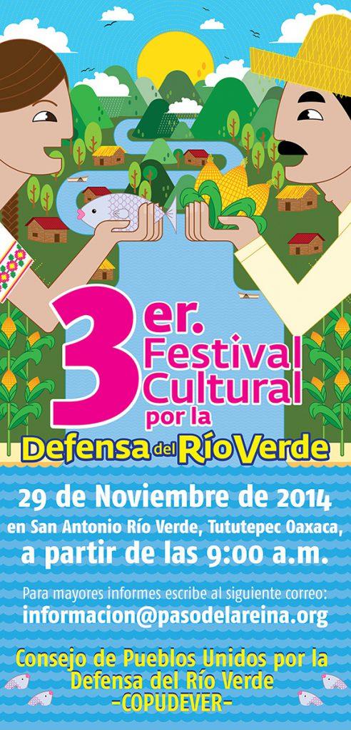 Tercer Festival Cultural por la Defensa del Río Verde