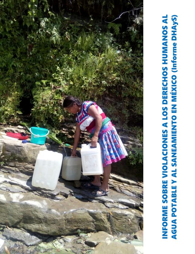 Informe sobre violaciones a derechos humanos al agua potable y al saneamiento en México