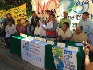 Pronunciamiento Público de los Pueblos Chatino y Mixteco de la Costa y Sierra Sur de Oaxaca ante Nueva Hidroelectrica
